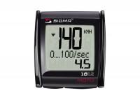 Tacho -SIGMA MC 1812 MOTO 0-399km/h, 0-399mph- misst Beschleunigung, Bremsverzögerung und Durchzug