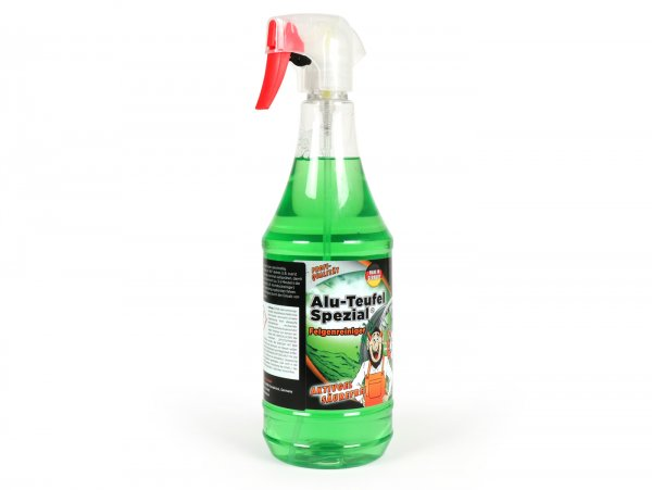 Wheel cleaner -TUGA Alu-Teufel Special (green, active gel, with effect indicator, acid free)- 1000ml