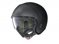 Helm -NOLAN, N21 Classic- Jethelm, schwarz matt - XXXL (64cm)
