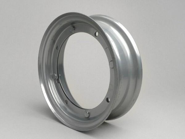 Wheel rim -VIGANO 2.10-8 inch, steel - Vespa (type Super - 4 outer holes) - grey