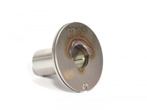Throttle cable pulley -MRP QUICK ACTION without handlebar indicators- Vespa V50, V90, SS50, SS90, PV125, ET3, Rally180 (VSD1T), Rally200 (VSE1T), Sprint150 (VLB1T), TS125 (VNL3T), GT125 (VNL2T), GTR125 (VNL2T), SS180 (VSC1T) - Ø=21mm