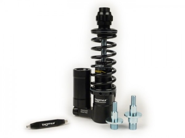Stoßdämpfer vorne -BGM PRO SC/F16 COMPETITION, 195mm + 205mm- Vespa PK - schwarz