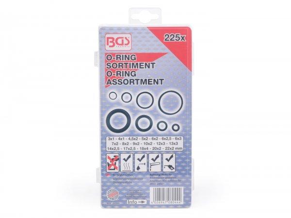 O-Ring-Sortiment -HS- Ø=3-22 mm, 225-tlg