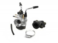 Carburettor kit -BGM Pro 17,5mm PHBN- Minarelli 50 cc 2-stroke (horizontal, manual choke) -
