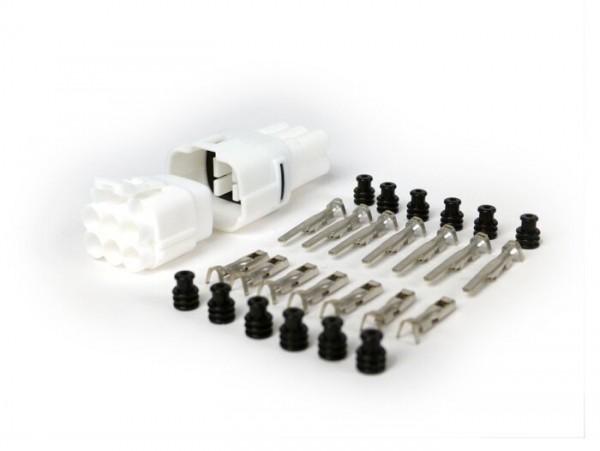 Stecker-Set für Kabelbaum -BGM PRO- Typ Serie 090 SMTO MT Sealed, Bihr, 6 Steckkontakte, 0.85-1.25mm², Wasserdicht-