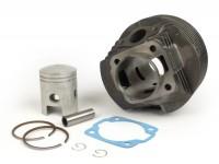 Cilindro -QUALITÀ OEM 125 ccm 3 travasi- Vespa PV125, ET3 125, PK125 S, PK125 XL2, PK125 ETS