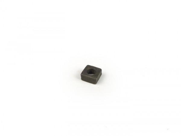 Square nut -DIN 557- M5 (used for collar air intake filter Vespa V50, V90, PV125, ET3, PK, Piaggio Ciao, Bravo, SI)