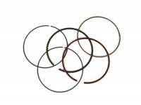 Piston rings set -MALOSSI- Piaggio Leader, Quasar LC 218, 270, 282cc -Ø=75.5mm (fit part no. M3113958, M3114700, M3113955)