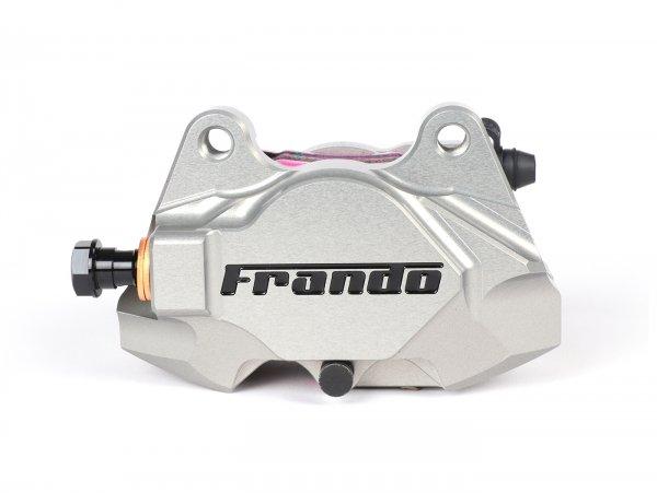 Brake caliper, rear -FRANDO, 2-piston, Ø=34mm (F901)- Vespa GT, GTV, GTL, GTS, GTS Super 125-300cc, Vespa 946 - silver