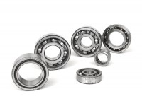 Ball bearing set for engine -SCOOTER CENTER- Vespa Smallframe PK125 ETS