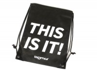 "Drawstring bag - Nylon -SCOOTER CENTER ""BGM THIS IS IT!"" 42x35cm- black"