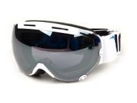 Occhiali da sci - goggles -PINLOCK®- Subzero,  visiera antiappannamento - bianco / mirroring