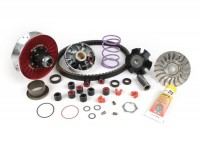 Variator-Kit -MALOSSI Overrange MHR Aluminium - Piaggio 50 cc (since 1998, short carter )