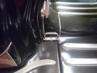 Gepäcköse Durchstieg -TD-Customs- Lambretta Serie 1-3 - Edelstahl