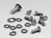 Screw set mag housing -MB DEVELOPMENTS-Lambretta LI, LIS, SX, TV (series 2-3), DL, GP - stainless steel