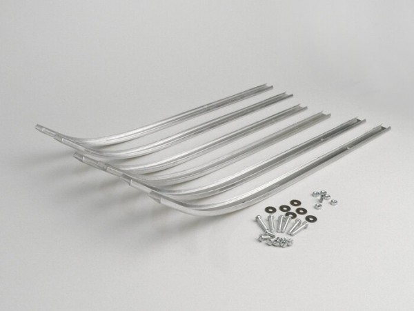 Trittleistensatz -LAMBRETTA- LD 125, LD 150 - Aluminium