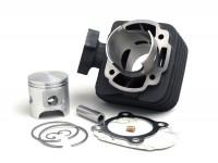 Zylinder -DR 70 ccm Evolution- Peugeot AC (vertikal) - SPEEDFIGHT1 50 cc AC, SPEEDFIGHT2 50 cc AC, TKR50, TREKKER50, VIVACITY50, ELYSEO50, SQUAB50, SV50, ZENITH50, BUXY50, ELYSTAR50, LOOXOR50, SPEEDAKE