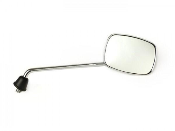 Espejo -CALIDAD OEM- Piaggio Beverly 125-250 - cromo - derecha