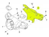 Speedo bezel -PIAGGIO- GTS 125-300 (ZAPM31, ZAPM45)
