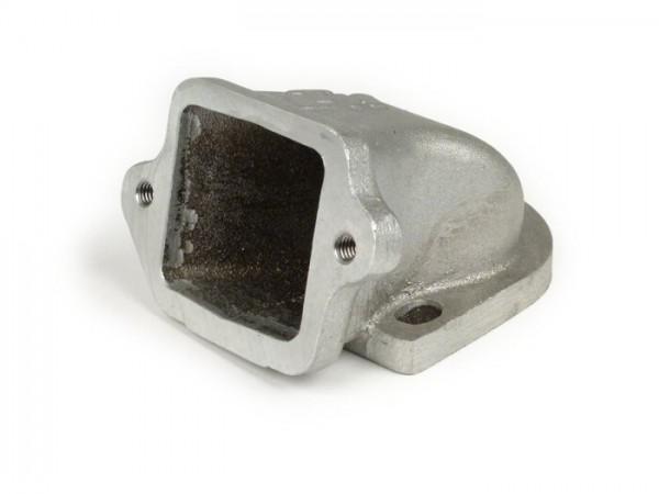 Colector de admisión - para caja de láminas -LTH válvula de láminas- Lambretta 125-225cc - Ø conexión=34mm - solo la carcasa