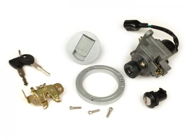 Kit cerradura -CALIDAD OEM- Peugeot Speedfight3-4 AC/LC - 2T/4T