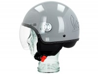 Helmet -VESPA Visor 3.0- grey lucido (715C) - L (59-60cm)