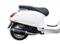 Exhaust -MALOSSI RX Black- VESPA Primavera, Sprint 3V i.e.125-150ccm HE/IGET