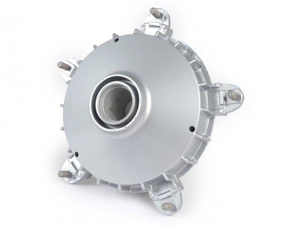 """Front brake hub 10"""" -LML (NOS), without bearings- Vespa PK S, PK XL, PK XL2 - Ø=20mm - silver"""