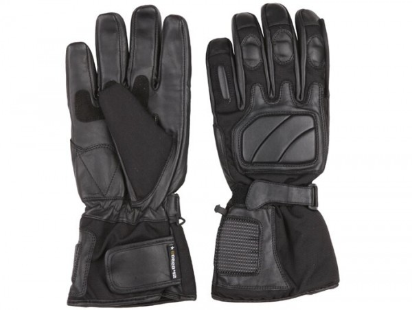 Gants -SCEED 42 Freeze- cuir avec membrane, noir - 06