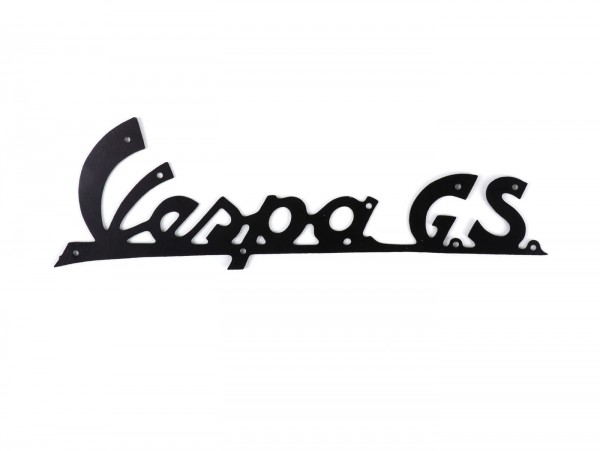 Badge legshield -OEM QUALITY- Vespa GS - Vespa GS150 / GS3 (since 1955) - black