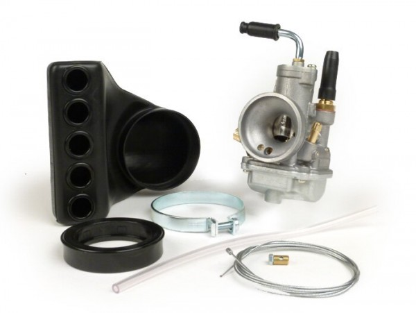 Vergaser -POLINI- CP 19mm - Vespa PV125, ET3, PK S, PK XL - passend für original Ansaugstutzen 19/19 - AW=23/30mm