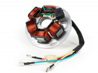 Zündung -BGM ORIGINAL Grundplatte- Vespa PX Lusso - 5 Kabel