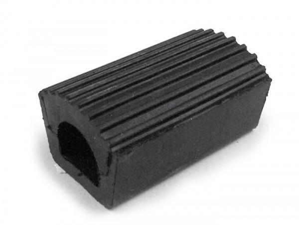 Brake pedal rubber -PIAGGIO- Vespa Rally180 (VSD1T), Rally200 (VSE1T), Sprint150 (VLB1T), GT125 (VNL2T), GTR125 (VNL2T), GL150 (VLA1T) - black