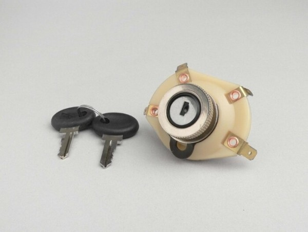 Ignition switch -OEM QUALITY- Vespa Rally200, ET3, PX (-1984, italian models)