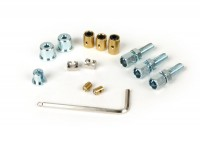 Adjuster screw and trunnion set -BGM PRO- Lambretta LI, LIS, SX, TV (series 2-3), DL, GP