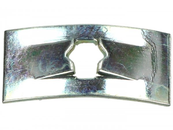 Spring plate for badges -OEM QUALITY- Vespa (used as clamp for badges)
