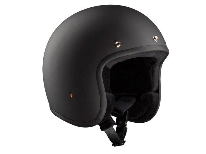 Motorrad Roller Jet Helm BANDIT Jet matt schwarz XXL 63 cm