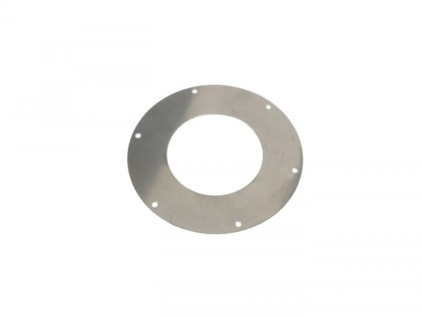 Spring retaining plate for primary gear -PIAGGIO- Vespa PX80, PX125, PX150, PX200, Cosa, T5 125cc, Rally180 (VSD1T), Rally200 (VSE1T), VNC (ab 11001), GT125 (VNL2T), GTR125 (VNL2T), TS125 (VNL3T), GL150 (VLA1T), VBC, Sprint, GS160 / GS4 (