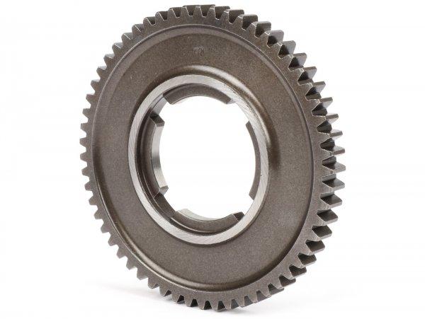 1st gear cog -OEM QUALITY- Vespa PX Lusso/EFL 125 ccm, T5 125ccm, Cosa125, LML Star/Stella 125 2-Takt - 58 teeth- fits also PX Lusso/EFL 150 ccm, 200ccm, Cosa 200