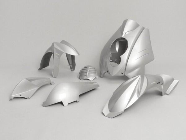 Verkleidung -BGM Evolution- Peugeot Ludix - Silbern