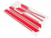 Set adesivi -VESPA- Vespa PX - rosso lucido