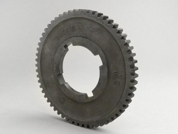 1st gear cog -PIAGGIO- Vespa PX EFL 125cc, T5 125cc - 58 teeth