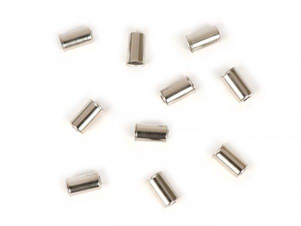 Jeu embouts de gaine -BGM ORIGINAL- Ø int.=6mm - 10 unités