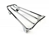 Floor board rack -CLASSIC RACKS- Vespa GTS 125-300, GTV, GTL, GT - show chrome