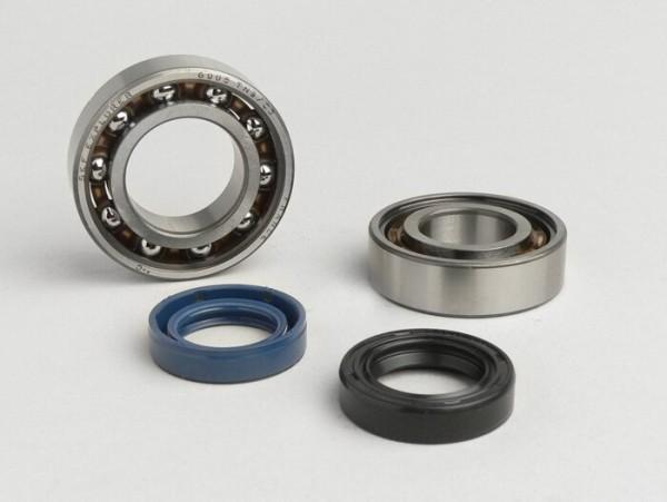 Kit rodamientos y retenes para cigüeñal -ATHENA- Honda 50cc (tipo Lead)