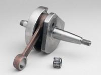 Albero motore -MAZZUCCHELLI Standard (valvola rotante)- Vespa V50, PK50 S (cono Ø=19mm)