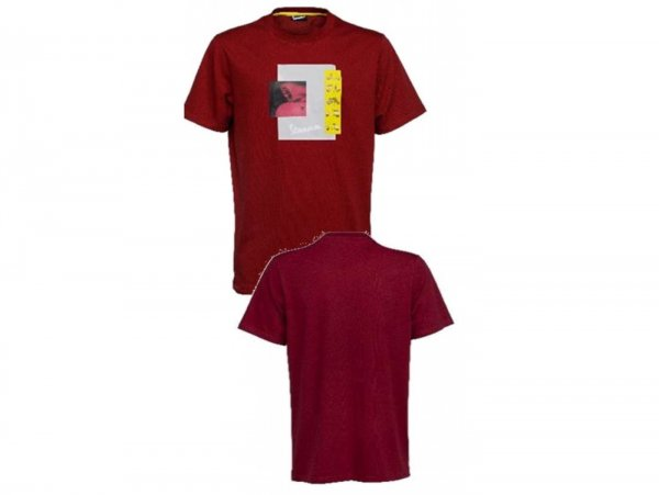"""T-Shirt -VESPA """"Heritage Collection""""- rot - XL"""
