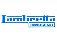 Aufkleber -LAMBRETTA Innocenti Lambretta 185x45mm- Blau