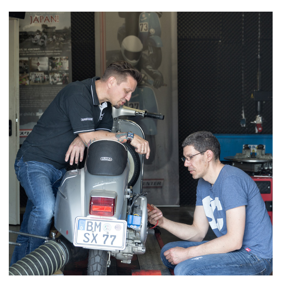 Scooter Center Leistungsprüfstand für Motorroller