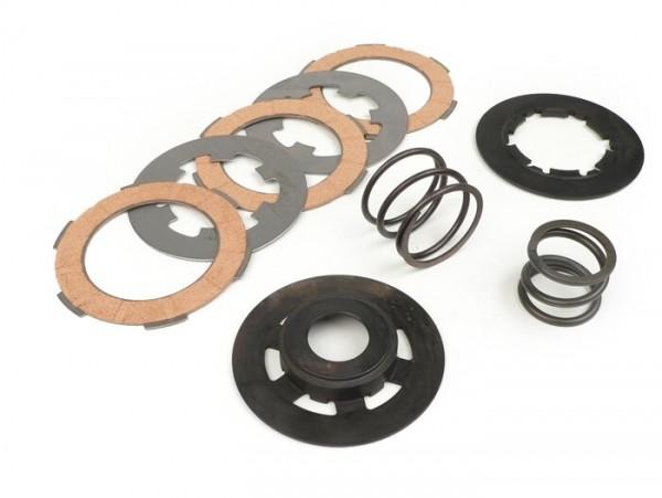 Kupplungs-Set -POLINI Double Spring- Vespa Smallframe V50, V90, SS50, SS90, PV125, ET3, PK50, PK80, PK50 S, PK80 S, PK125 S, PK50 XL, PK125 XL, ETS, PK50 HP, PK50 SS  - 3-Scheiben BGM